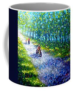 Park On St Helen Island - Montreal Coffee Mug