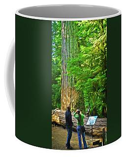 Park Visitors Coffee Mug
