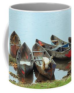 Parking Boats Coffee Mug