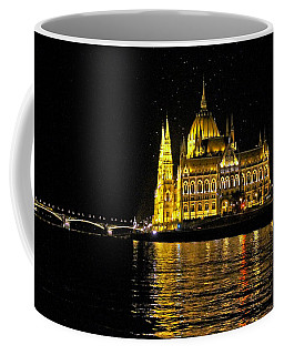 Parliament At Night Coffee Mug