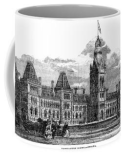 Parliament Building - Ottawa - 1878 Coffee Mug