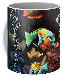 Parrot Fish Coffee Mug