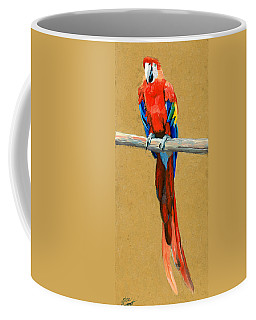 Parrot Perch Coffee Mug