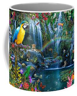 Parrot Tropics Coffee Mug