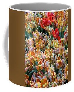 Parrot Tulips Coffee Mug