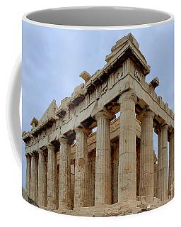 Parthenon Corner Coffee Mug