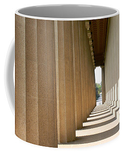 Coffee Mug featuring the photograph Parthenon1 Nashville Tn by Ericamaxine Price