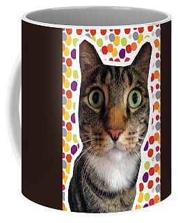 Party Animal- Cat With Confetti Coffee Mug