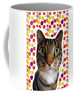Party Animal - Smaller Cat With Confetti Coffee Mug