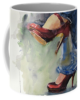 Party Shoes Coffee Mug by Judith Levins