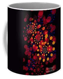 Party Time Abstract Painting Coffee Mug