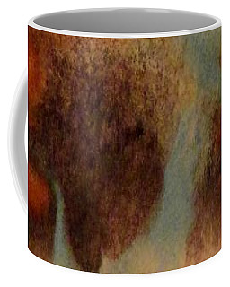 Coffee Mug featuring the painting Passage by Mike Breau