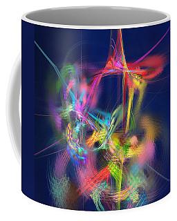 Passion Nectar - Circling The Flower Of Paradise Coffee Mug by Menega Sabidussi