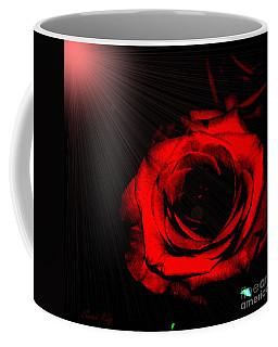Passion. Red Rose Coffee Mug