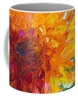 Dahlia Coffee Mugs
