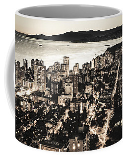 Coffee Mug featuring the photograph Passionate English Bay. Mccclxxviii By Amyn Nasser by Amyn Nasser