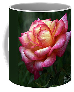 Passionate Shades Of A Perfect Rose Coffee Mug
