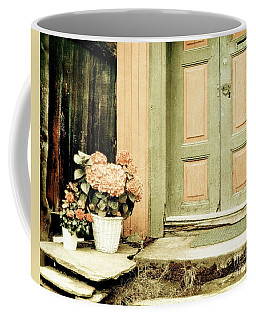 Pastel Colored Doorstep Coffee Mug