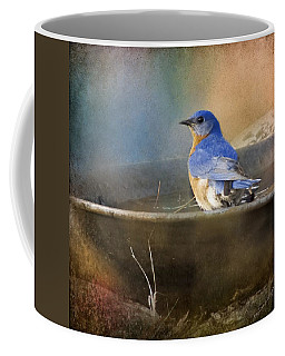 Pastel Eastern Bluebird Coffee Mug
