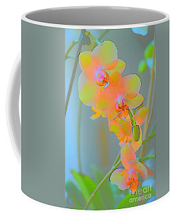 Pastel Orchids Coffee Mug