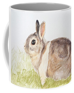 Pastel Pet Rabbit Coffee Mug