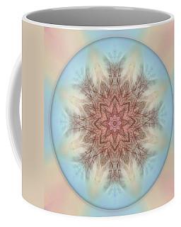 Pastel Sky Mandala Coffee Mug