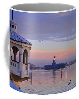 Pastel Uss Lexington Coffee Mug