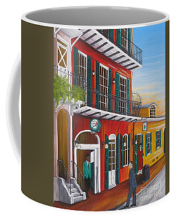 Pat O's Courtyard Entrance Coffee Mug