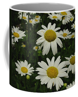 Patch Of Daisies Coffee Mug by James C Thomas