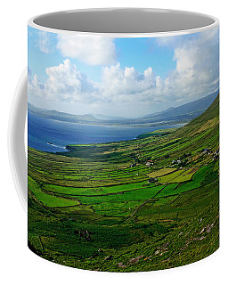 Patchwork Landscape Coffee Mug
