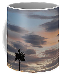 Coffee Mug featuring the photograph Patchwork Sunset by Tam Ryan