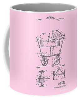 Patent Art Baby Carriage 1922 Mahr Design Pink Coffee Mug