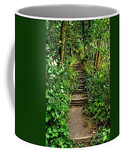 Path Into The Forest Coffee Mug