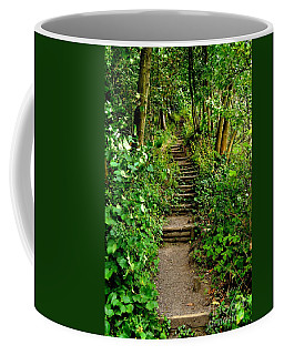 Path Into The Forest Coffee Mug