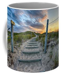 Path Over The Dunes Coffee Mug