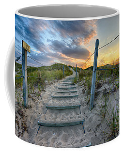 Path Over The Dunes Coffee Mug