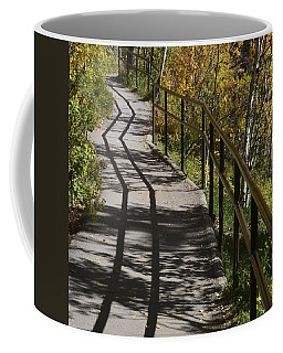 Path Shadow Coffee Mug