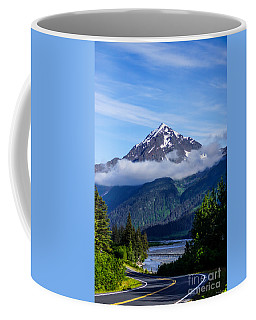 Path Through Alaska Coffee Mug