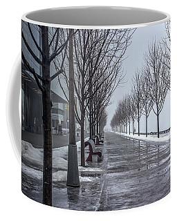 Path Through Fog Coffee Mug