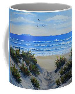 Path Through The Sand Dunes Coffee Mug