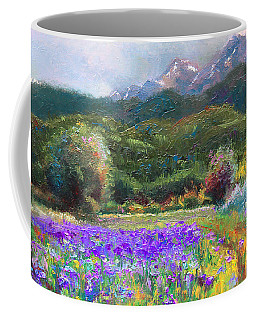 Coffee Mug featuring the painting Path To Nowhere by Talya Johnson