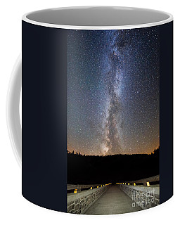 Path To Our Galaxy   Coffee Mug