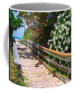 Pathway To Beach Coffee Mug