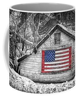 Patriotic American Shed Coffee Mug