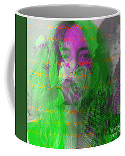 Patti Smith Dancing Barefoot Coffee Mug