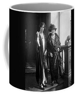 Coffee Mug featuring the photograph Paul & Belmont, 1923 by Granger