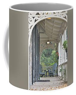 Pause For Reflection Coffee Mug by David Porteus