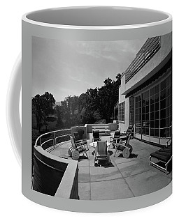 Paved Terrace At The Residence Of Mr. And Mrs Coffee Mug