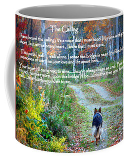 Paw Prints The Calling Coffee Mug