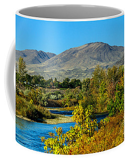 Payette River And Squaw Butte Coffee Mug